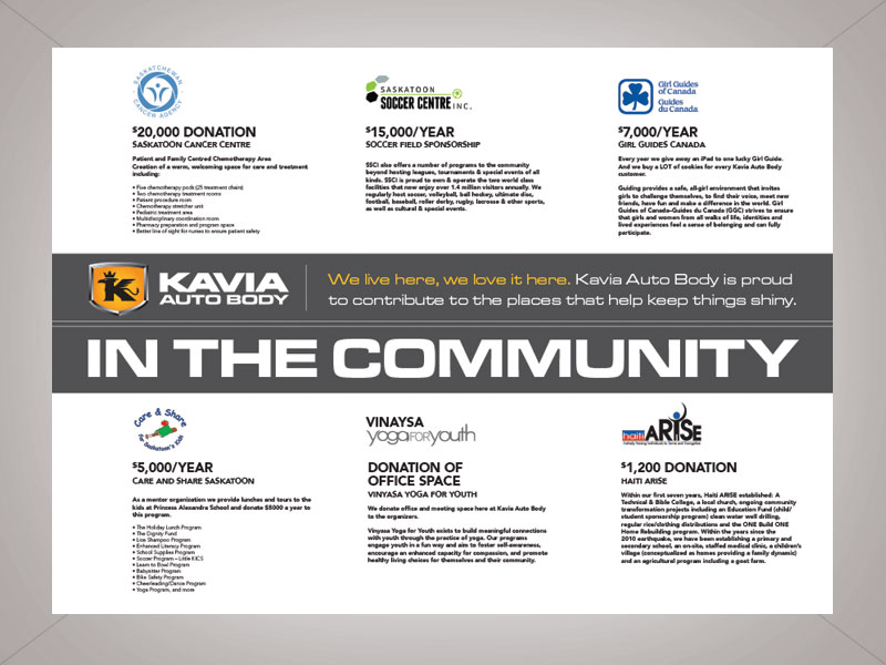 kavia in the community