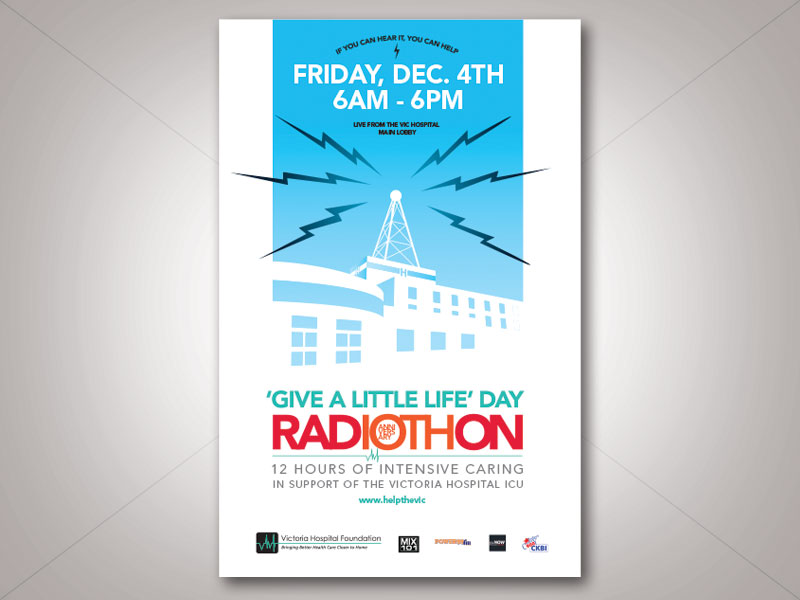 give a little life radiothon
