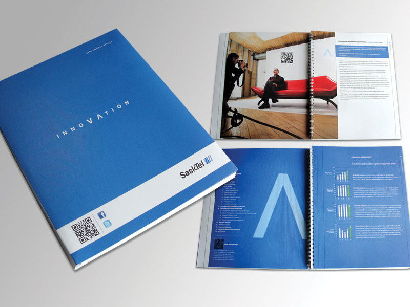 annual report design saskatoon